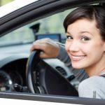 female car owner