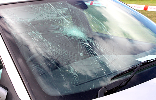 Image of Cracked Windscreen